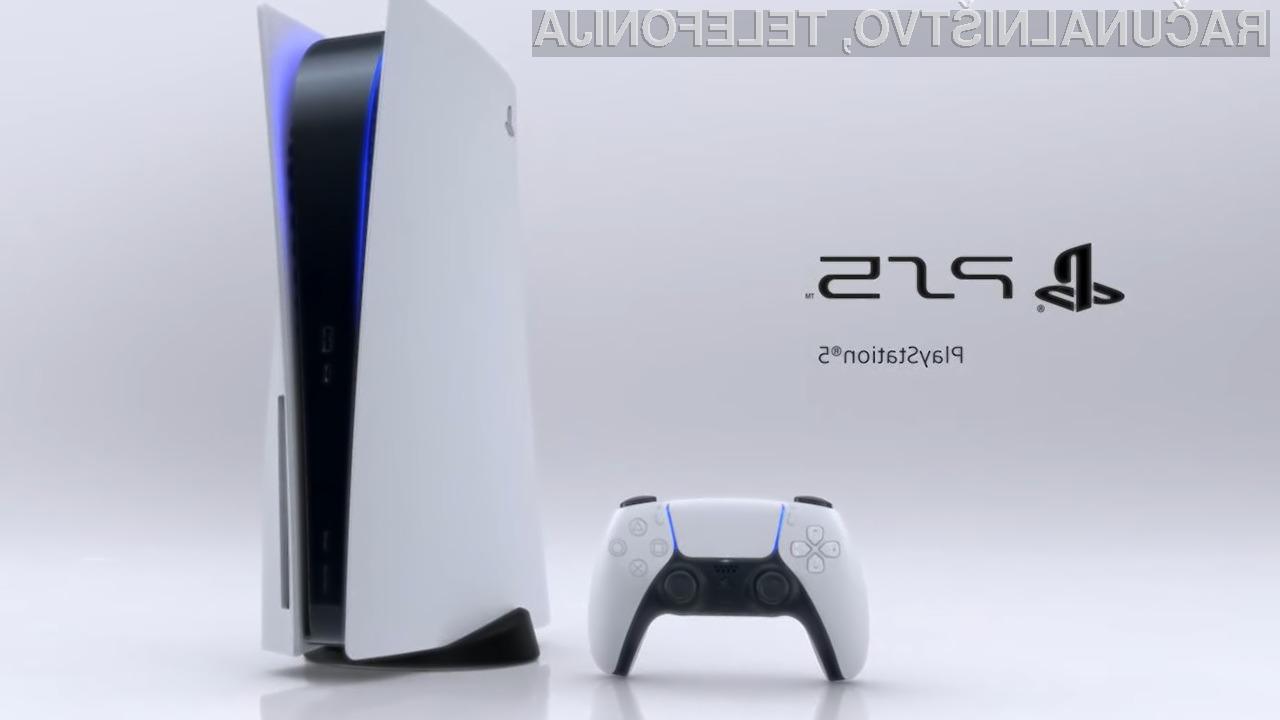 Klasična igralna konzola PlayStation 5 bo merila kar 390 x 104 x 260 milimetrov.