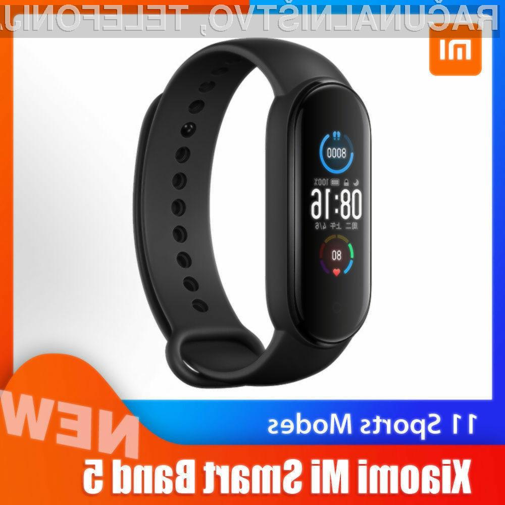 Xiaomi Mi Smart Band 5 je lahko vaša že za 35,99 evrov.