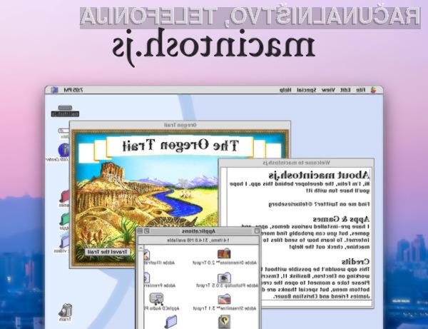 Operacijski sistem macOS 8 lahko sedaj preizkusimo tudi mi!
