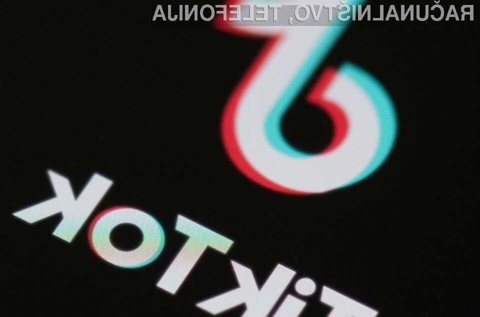 Amazon zaposlenim ne bo prepovedal uporabe priljubljenega omrežja TikTok.