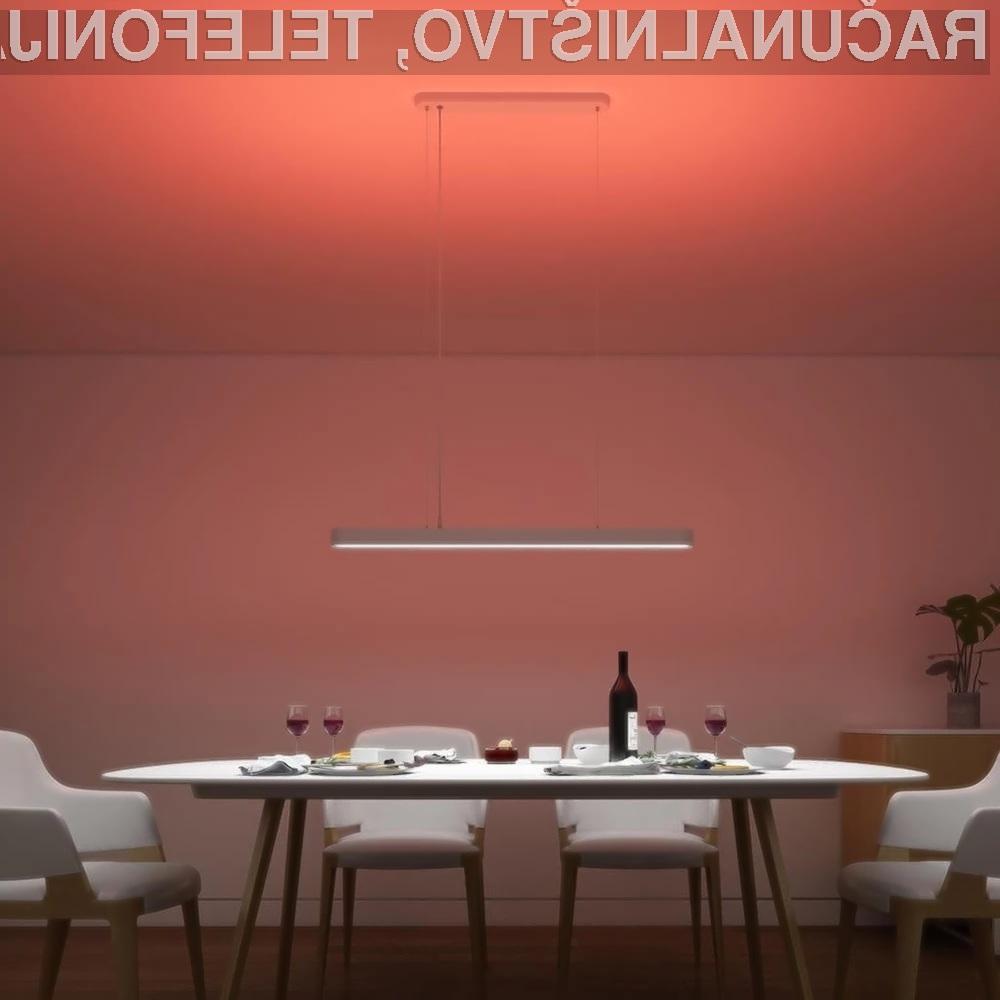 Pametna svetilka Xiaomi Yeelight je lahko naša že za zgolj 72,40 evrov.