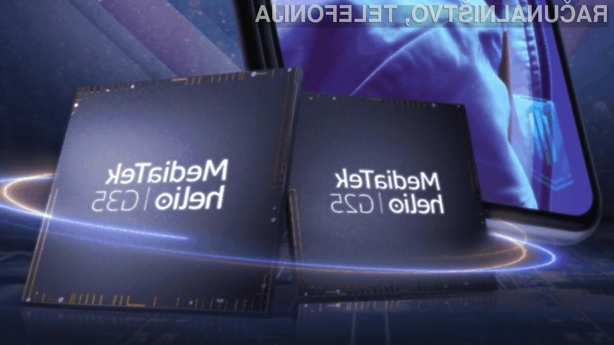 Mobilna procesorja MediaTek Helio G25 in Helio G35 bosta namenjena poceni telefonom za igranje mobilnih iger.