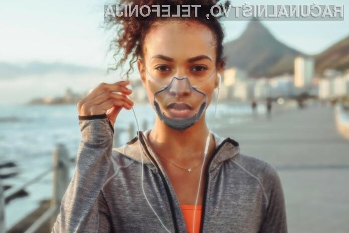 Revolucionarna prozorna zaščitna maska, ki navdušuje!