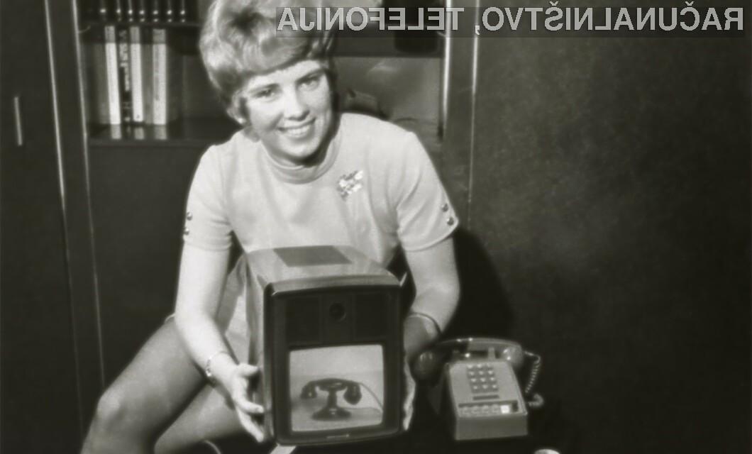 Prvi video klic je bil opravljen 1. julija leta 1970.