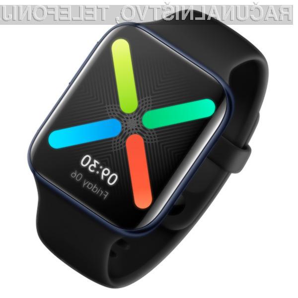 Vstopna različica pametne ročne ure OPPO Watch je na voljo že za 249 evrov.
