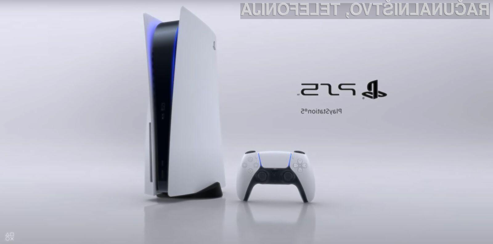 . Za klasično igralno konzolo PlayStation 5 bo treba odšteti kar 499 evrov.