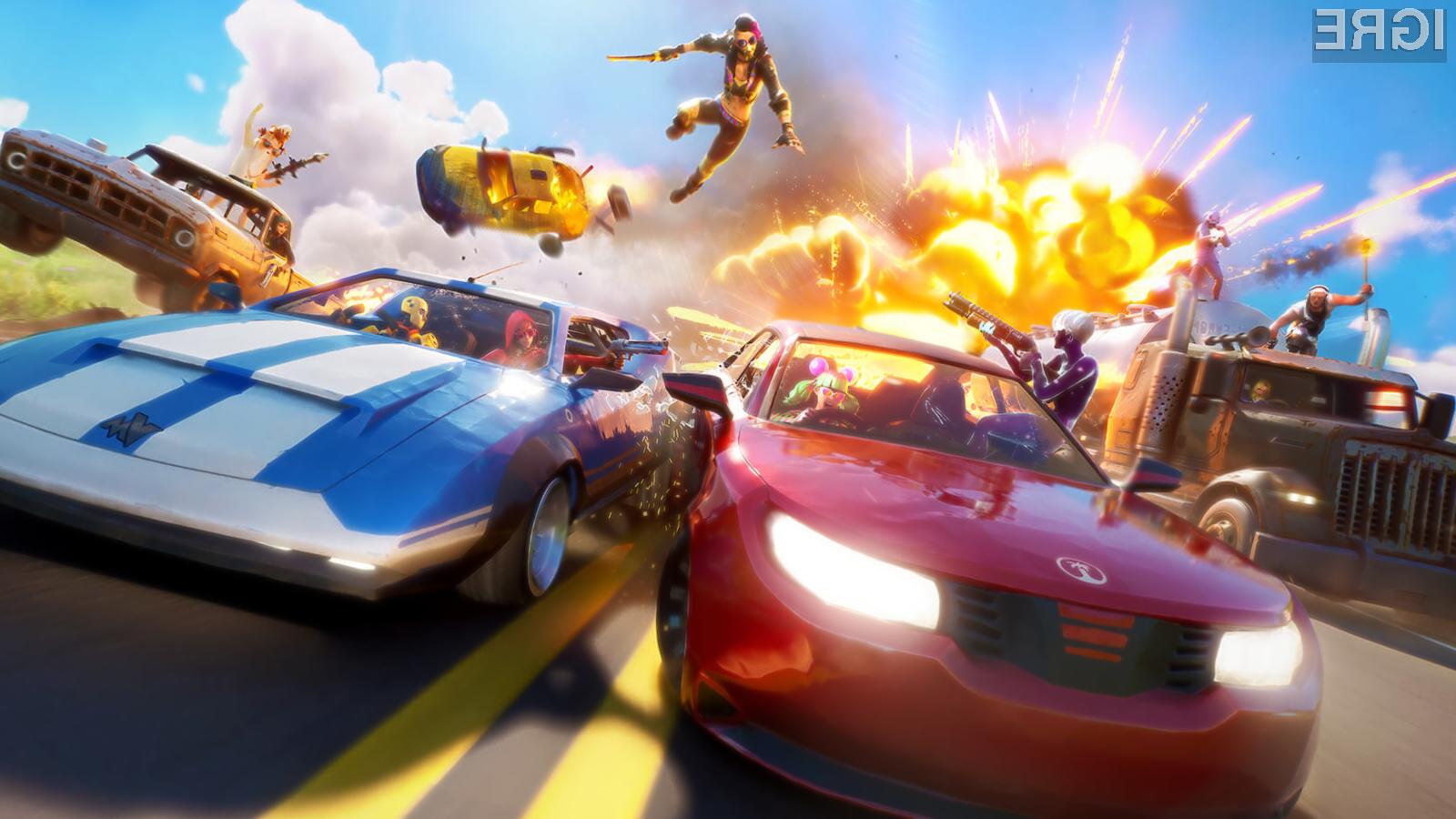 Posodobitev Joy Ride v Fortnite prinaša močno zaželene avtomobile.