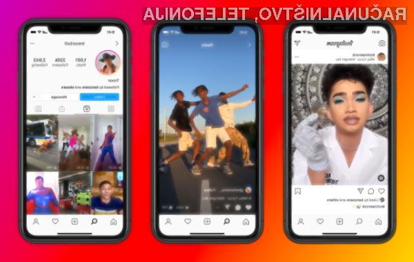 Instagram Reels ima vse možnosti, da se lahko uspešno kosa z družbenim omrežjem TikTok.
