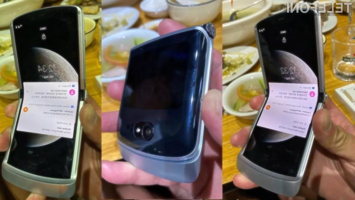 Tako naj bi izgledal novi Motorola Razr 5G!