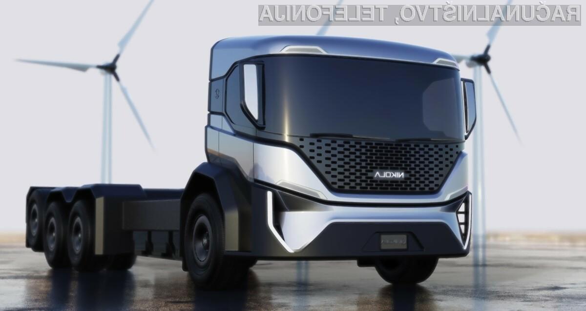 Električni tovornjaki tudi za odvoz odpadkov!