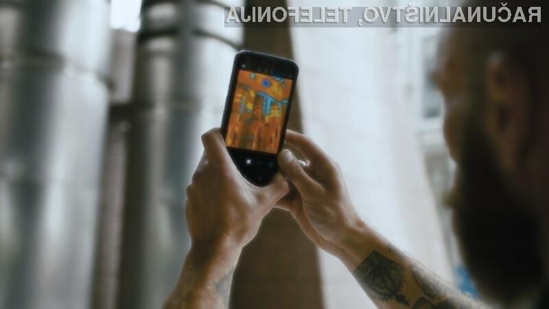 Pametni mobilni telefon Cat S62 Pro je namenjen predvsem profesionalcem!
