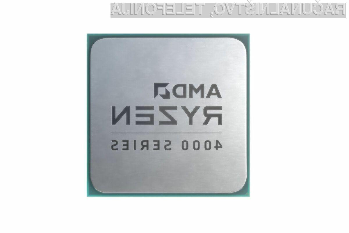 Procesorji AMD Ryzen 4000 naj bi brez težav opravili tudi z najzahtevnejšimi nalogami.
