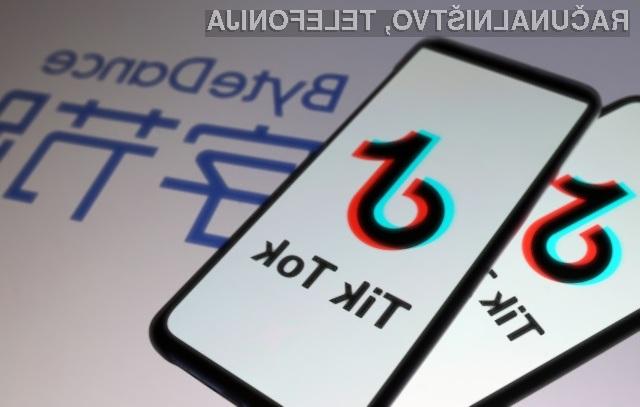 Ameriški predsednik je odločen, da bo prepovedal priljubljeno aplikacijo TikTok.