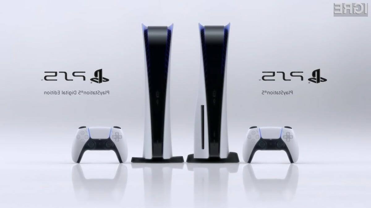 Igralno konzolo Sony PlayStation 5 lahko trenutno žal prednaročijo le Američani.