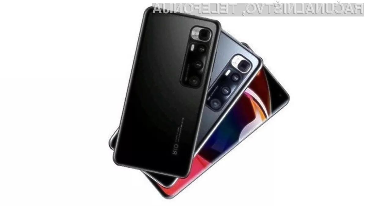 Xiaomi Mi 10 Ultra bo prvi pametni mobilni telefon s kamero pod zaslonom.