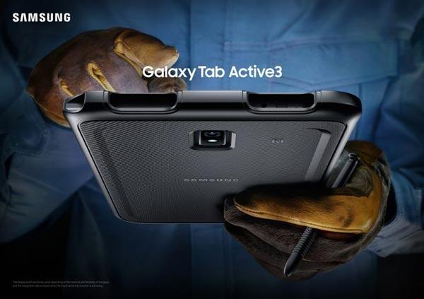 Tablični računalnik Samsung Galaxy Tab Active3 lahko uporabljamo praktično povsod!