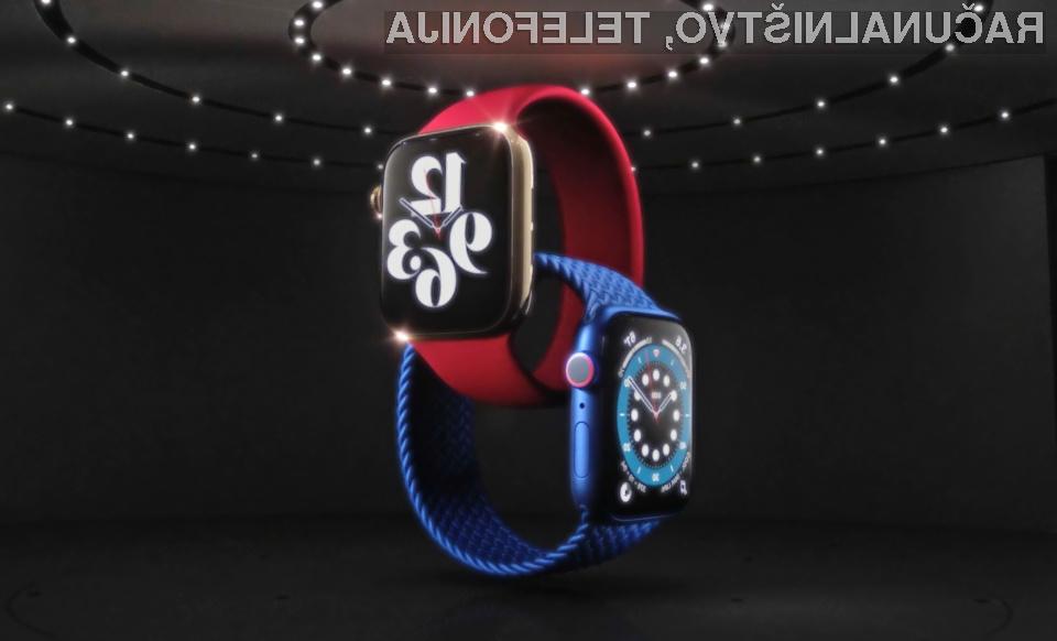 Apple Watch Series 6 ponuja vse, kar potrebujejo najzahtevnejši!