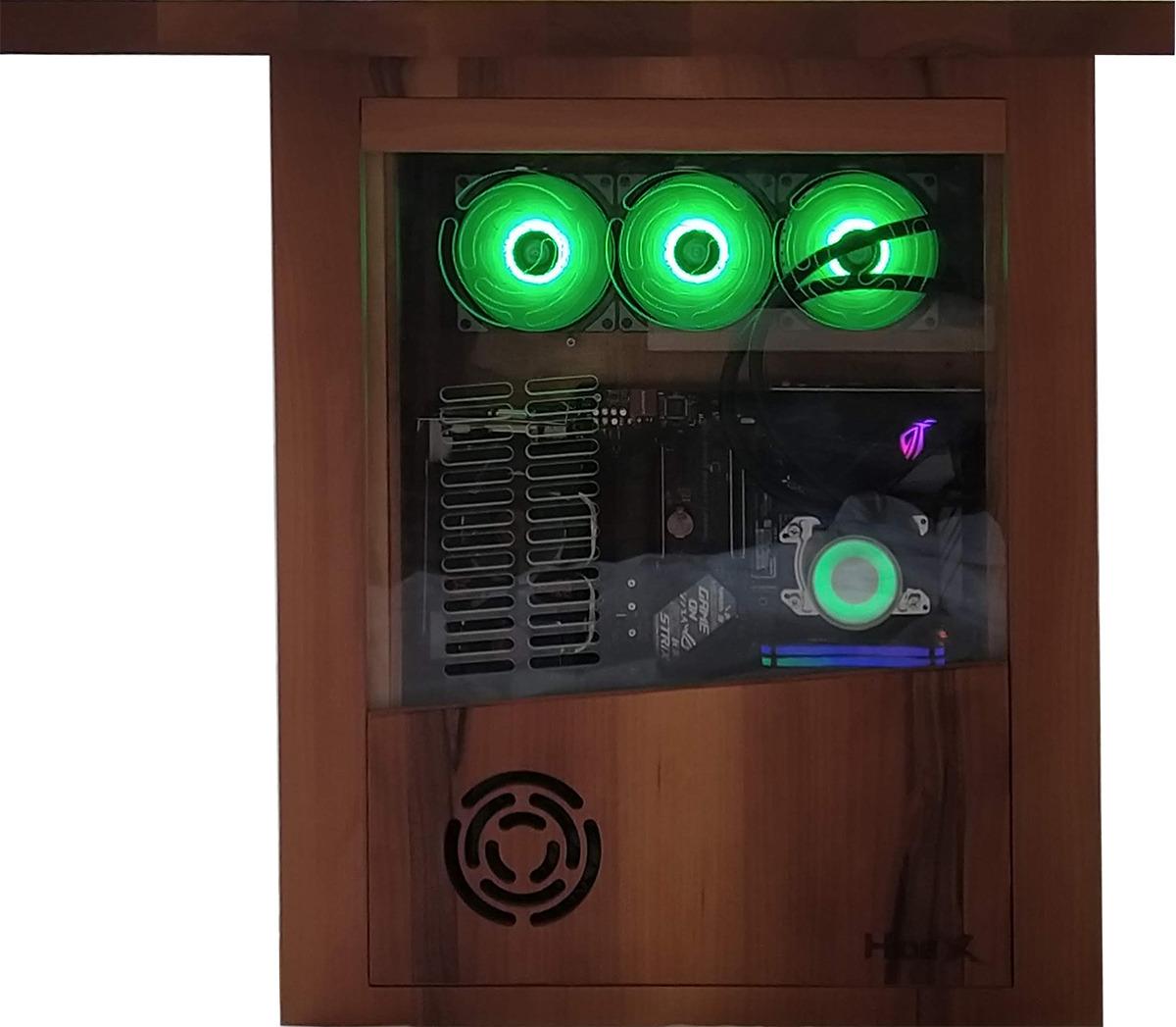 Miza HideX združuje vse, kar se od profesionalne gamerske mize pričakuje.