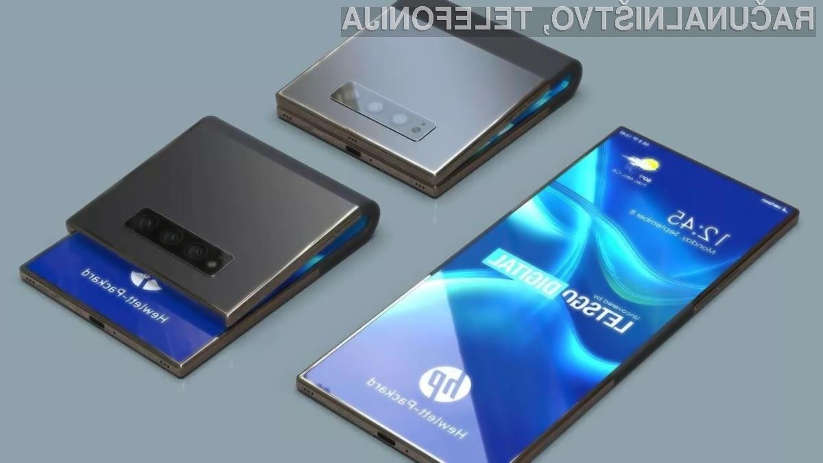 Prepogljivi pametni mobilni telefon podjetja HP izgleda nadvse fantastično!