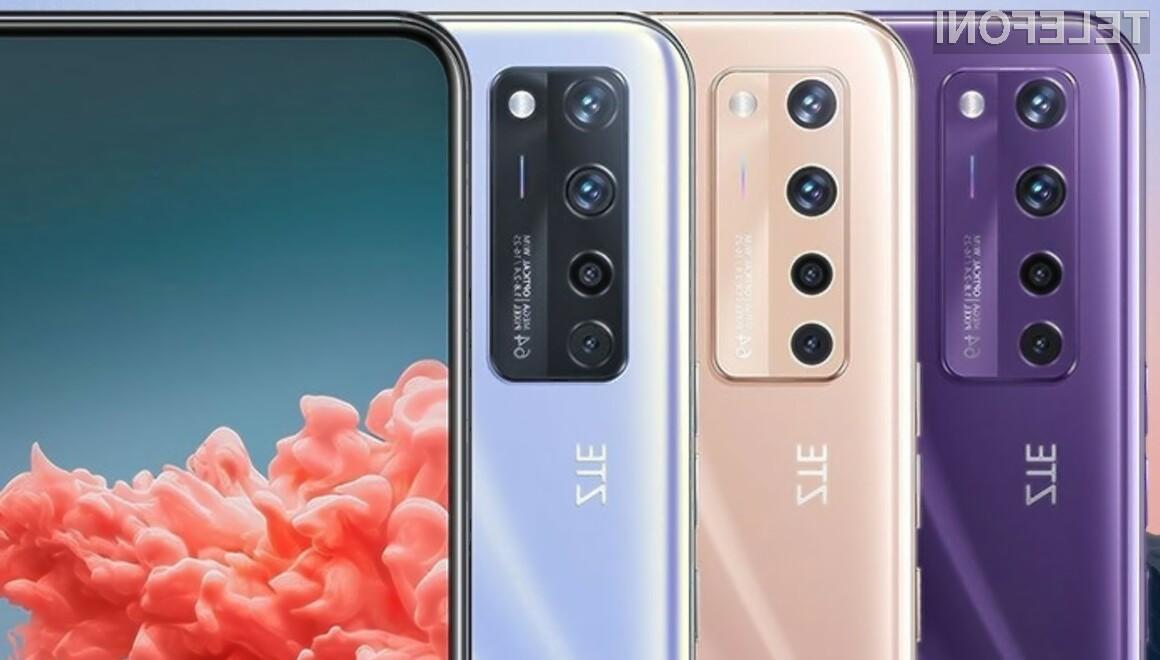 ZTE Axon 20 5G je prvi pametni mobilni telefon s spletno kamero pod zaslonom.