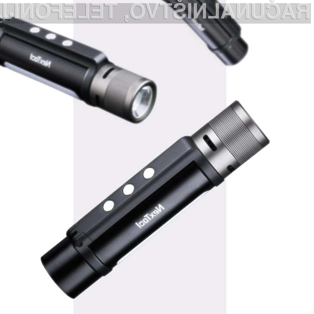 Ročna svetilka Xiaomi Youpin Nextool Flashlight je primerna za vse priložnosti!