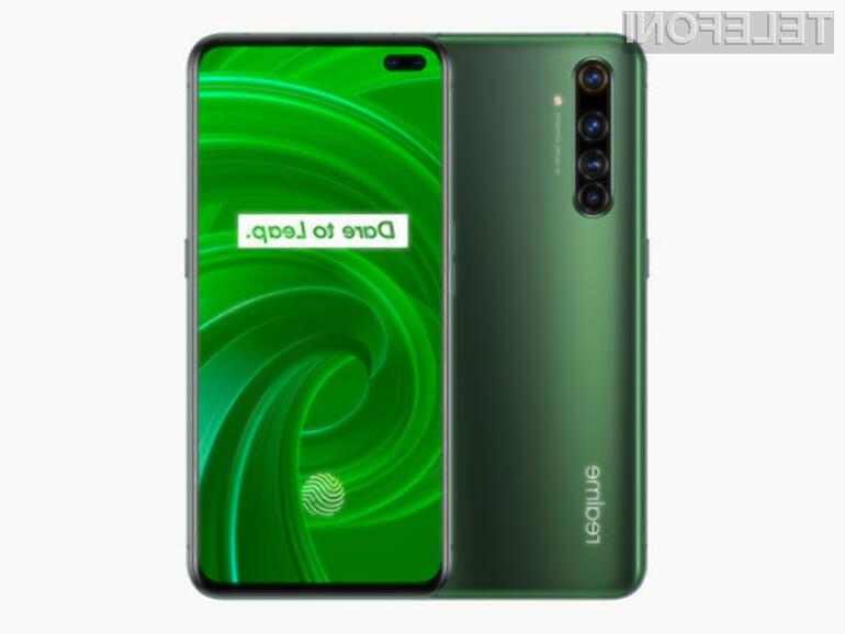 Realme X50 Pro naj bi bil pametni mobilni telefon 5G, ki najmanj seva.