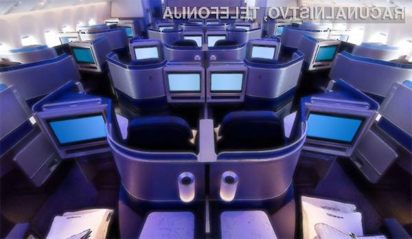 Zasloni OLED kmalu tudi za potniška letala?