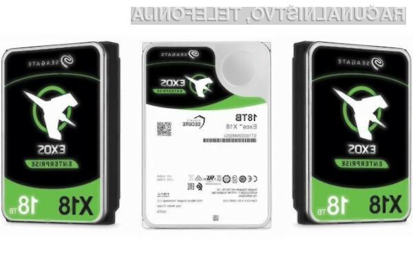 Trdi disk kapacitete 18 terabajtov