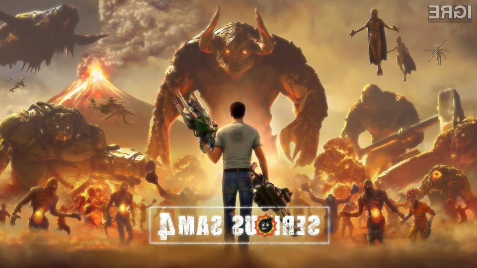 Serious Sam se vrača že prihodnji teden.