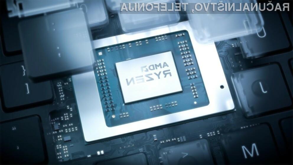 Procesorji AMD družine Ryzen 6000 naj bi znatno pohitrili delovanje osebnih računalnikov.