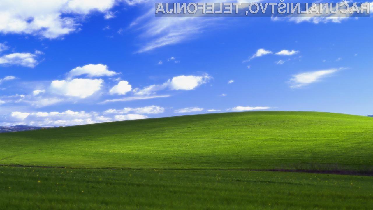Zelo slaba novica za vse uporabnike Windowsa XP!