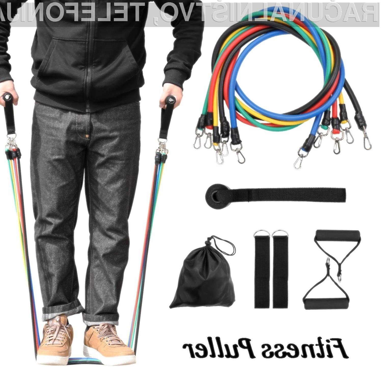 Set vadbenih elastik, ki jih ponuja spletna stran TomTop, vas zagotovo ne bo razočaral.