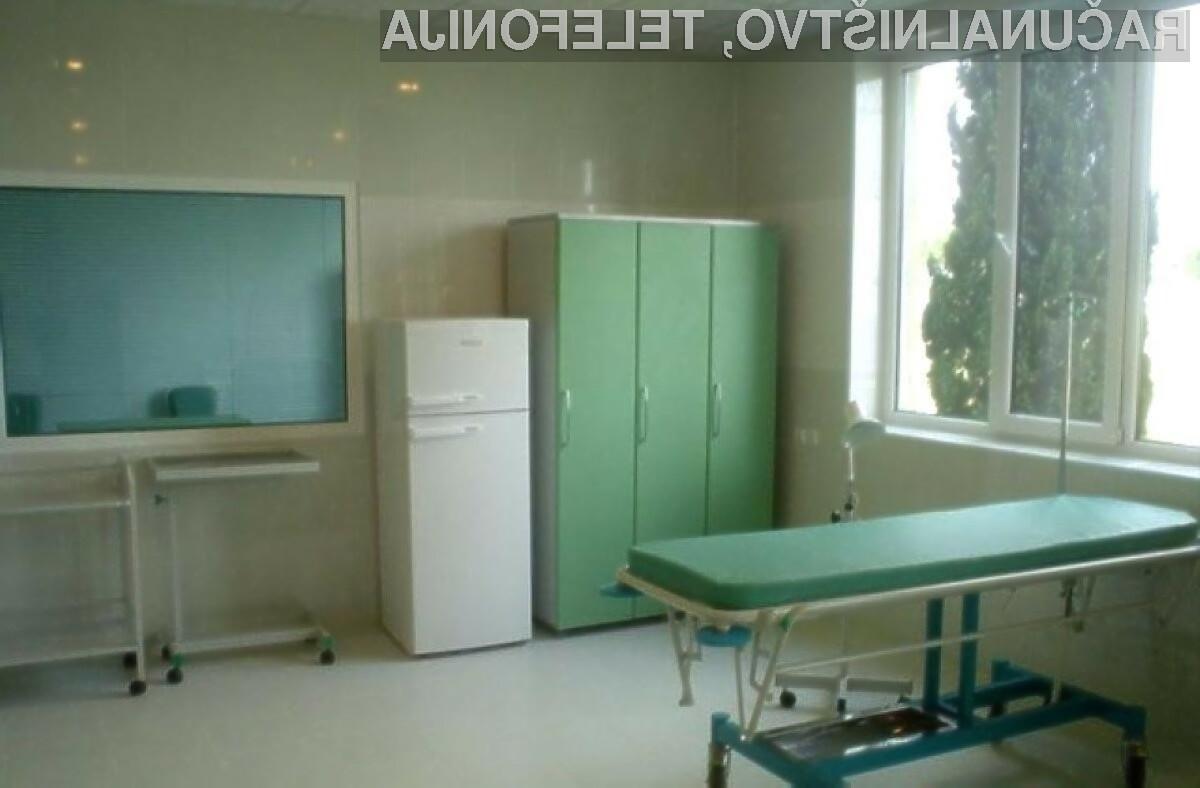 Kriminalci so izsiljevalsko škodljivo kodo pomotoma poslali bolnišnici.
