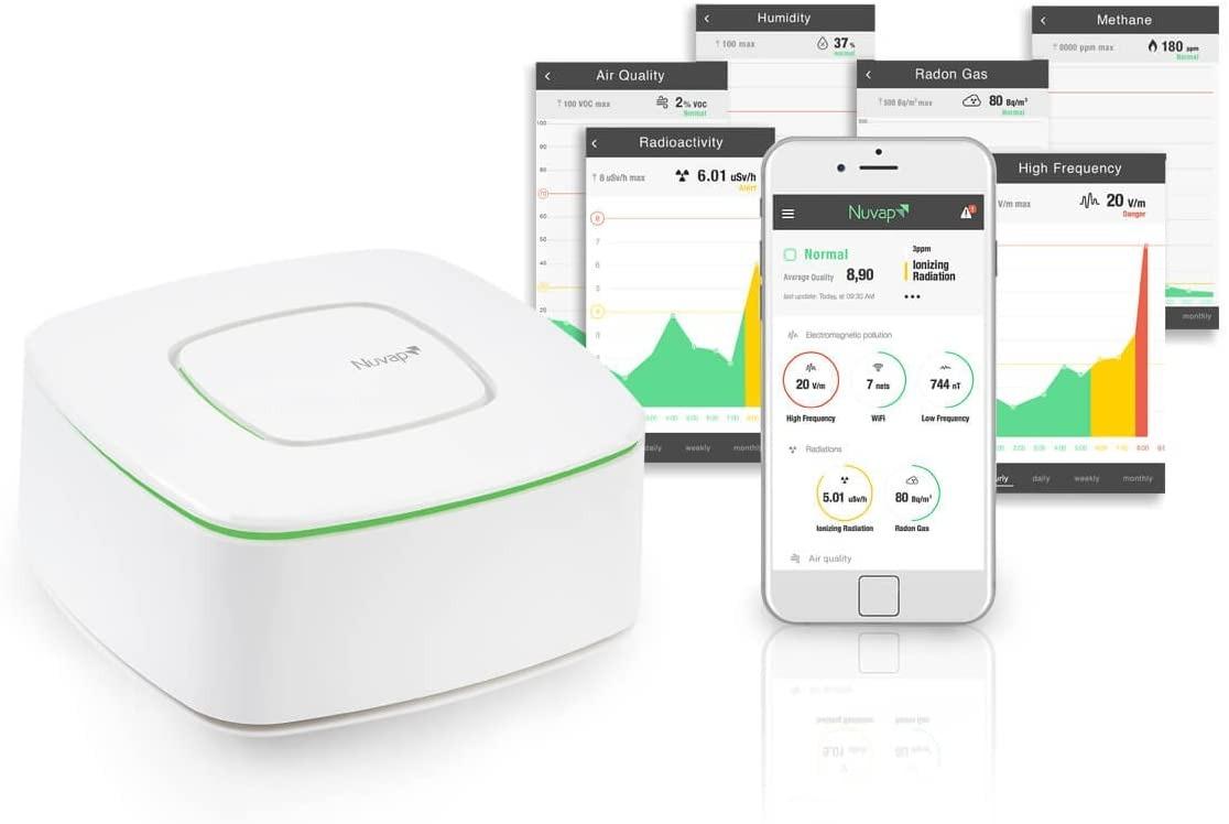 Senzor in mobilna aplikacija Nuvap