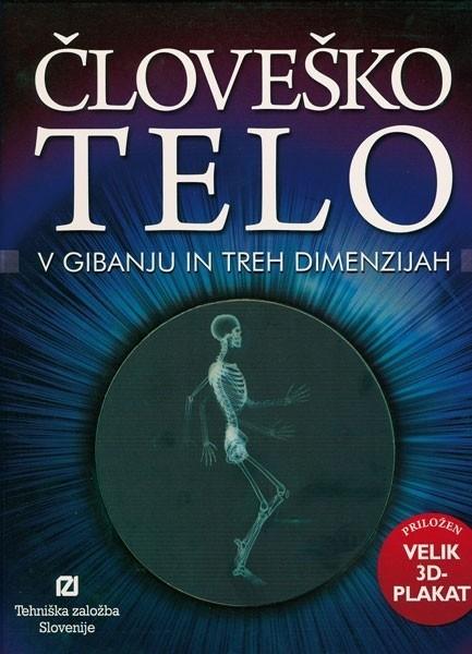 Knjiga Človeško telo – IZKLICNA CENA 1 €!