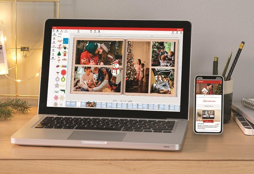 S foto programom ali mobilno aplikacijo CEWE Fotosvet lahko oblikujete in ustvarite unikatne CEWE foto izdelke.