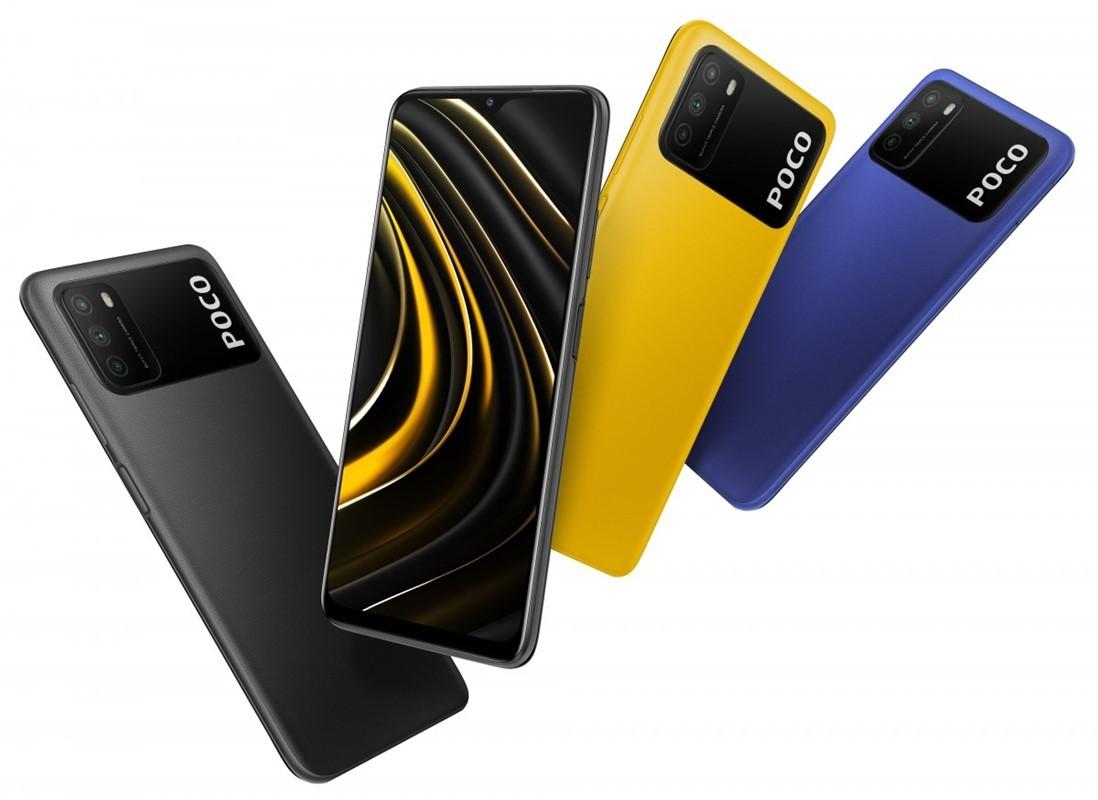 Pametni mobilni telefon Poco M3 bo navdušil predvsem mlade.