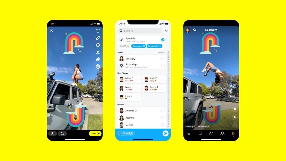 Snapchat ima z novo storitvijo Spotlight zagotovo velike načrte.