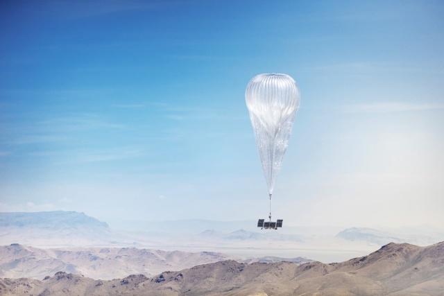 Internetne balone Google Loon bo odslej upravljala kar napredna umetna inteligenca.