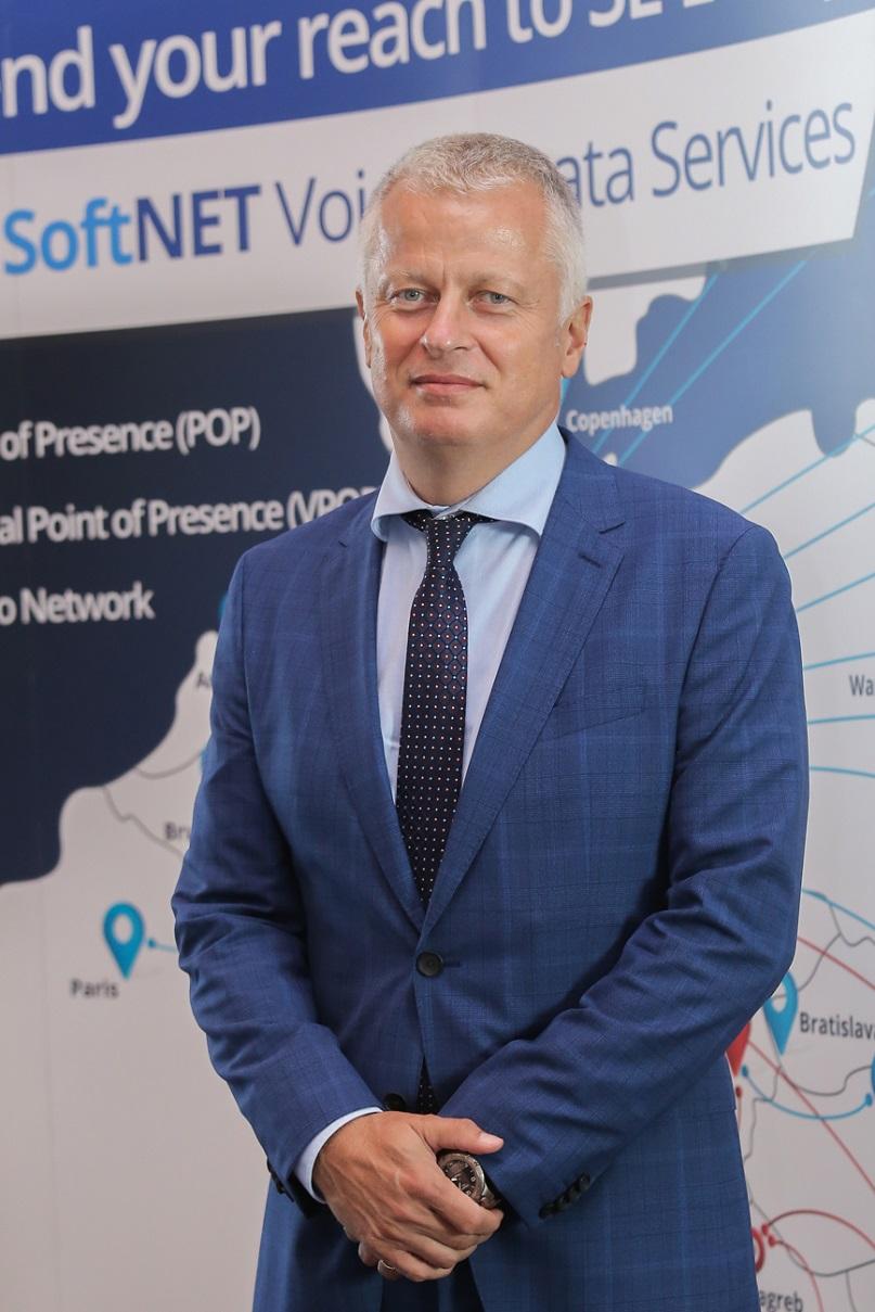 Andrej Boštjančič, direktor operaterja Omrežje
