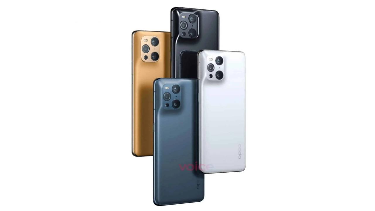 Pametni mobilni telefoni OPPO Find X 3 naj bi bili nared za prodajo še pred pomladjo.