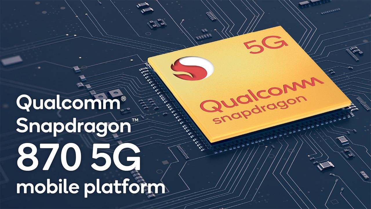Prve telefone z novim procesorjem Qualcomm Snapdragon 870 5G lahko pričakujemo že pred koncem meseca marca.