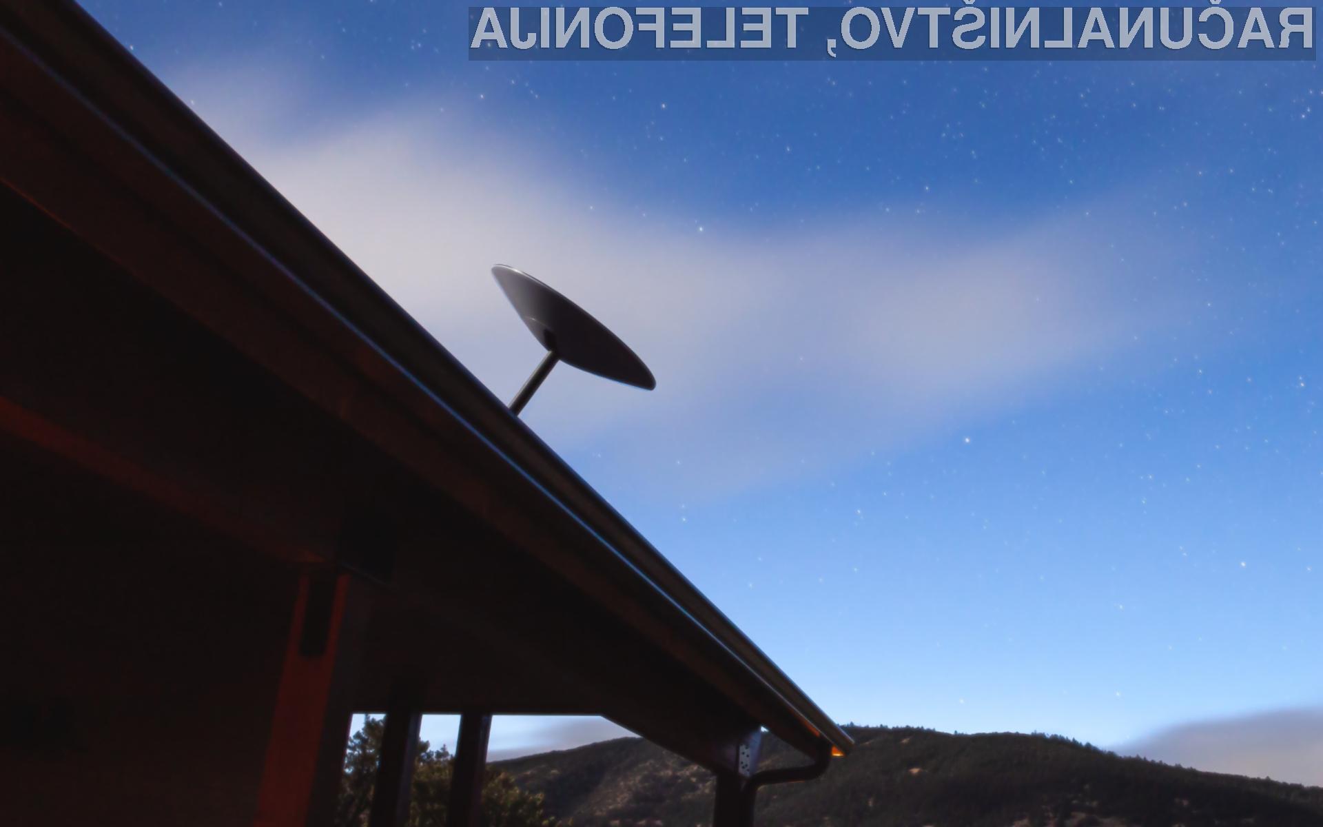 Satelitski internet SpaceX Starlink bo kmalu zagotavljal prenose podatkov s hitrostjo do 300 megabitov na sekundo.